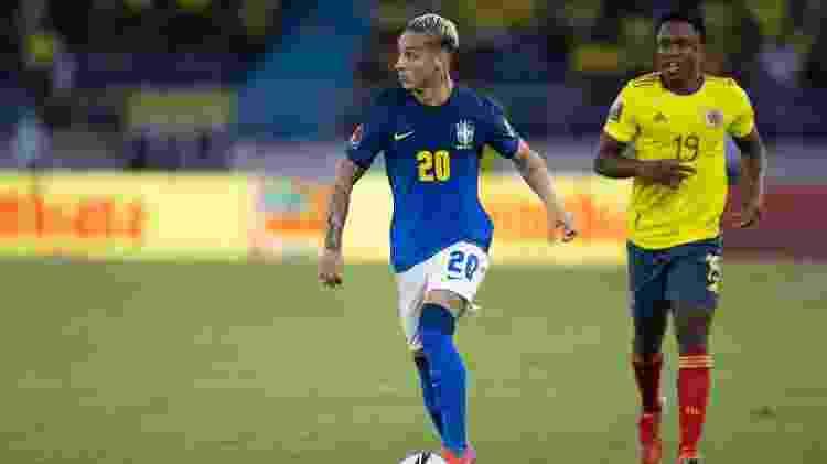 Antony - Lucas Figueiredo/CBF - Lucas Figueiredo/CBF