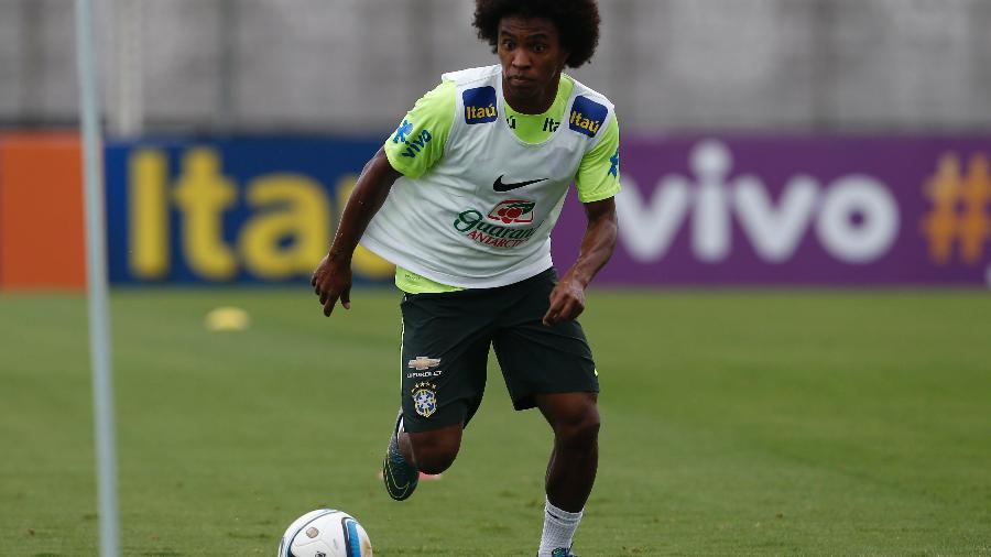 Willian vive a expectativa para saber quando fará sua estreia no Corinthians - André Mourão / MoWA Press