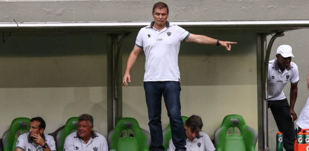 Diego Aguirre, técnico do Atlético-MG