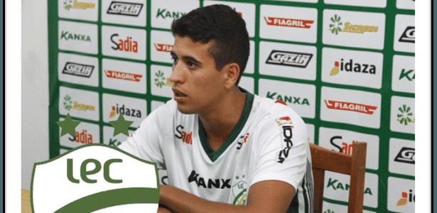 Ricardo, do Luverdense, vai reforçar o Braga - Divulgação/Site oficial do Luverdense