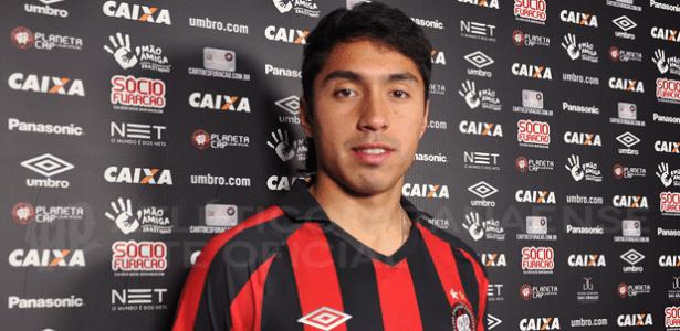 Cabral defendeu a seleção do Chile no Sul-Americano sub-20, em 2015 - Mauricio Mano/Site Oficial do Atlético-PR