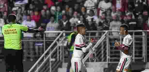 Luiz Araújo e David Neres atraíram atenção de clubes europeus - Alê Cabral/Agif