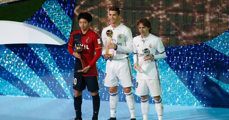 Gaku Shibasaki, Cristiano Ronaldo e Luka Modric foram eleitos os três melhores da competição