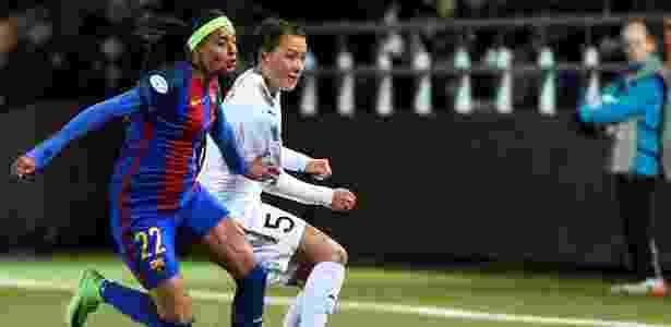 Andressa Alves é um dos destaques do Barcelona - Emil Langvad/via REUTERS