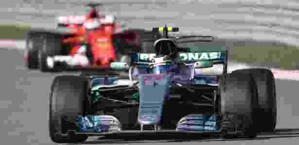 Bottas segura Vettel no GP da Rússia - AFP PHOTO / Alexander NEMENOV - AFP PHOTO / Alexander NEMENOV