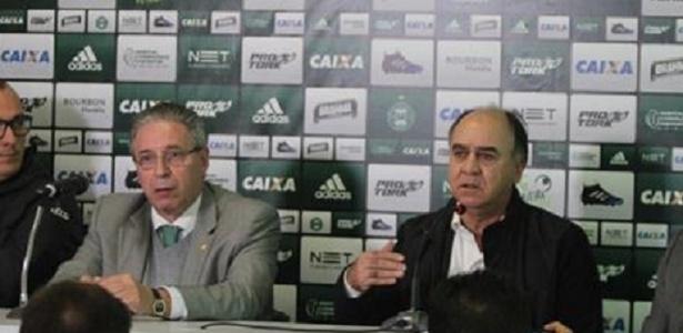 Bacellar e Oliveira seguirão juntos no Coritiba - Comunicação CFC