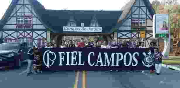 Torcedores de Campos do Jordão planejam assistir mais oito jogos do Corinthians em 2017 - Acervo pessoal