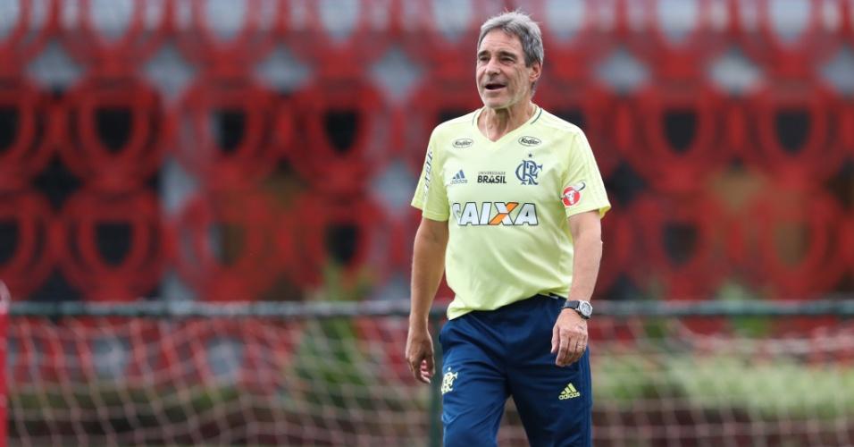 Paulo César Carpegiani tem a responsabilidade de comandar o Flamengo na Libertadores