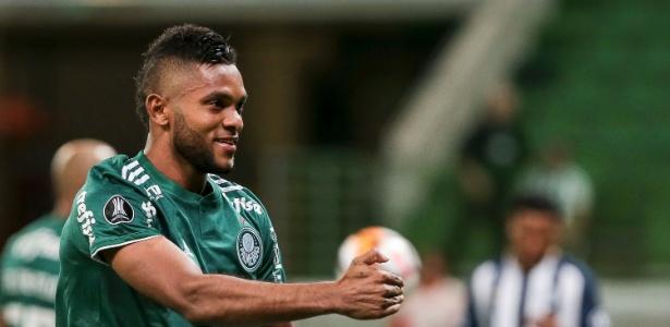 Borja fez o segundo gol do Palmeiras contra o Alianza Lima