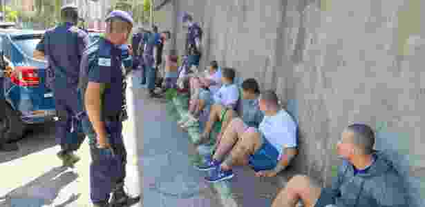 Torcedores de Guarani e Ponte Preta foram detidos pela Guarda Municipal - Divulgação/GM Campinas
