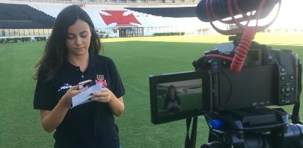 Sarah Borborema é assessora do time da base do Vasco - Reprodução/Instagram