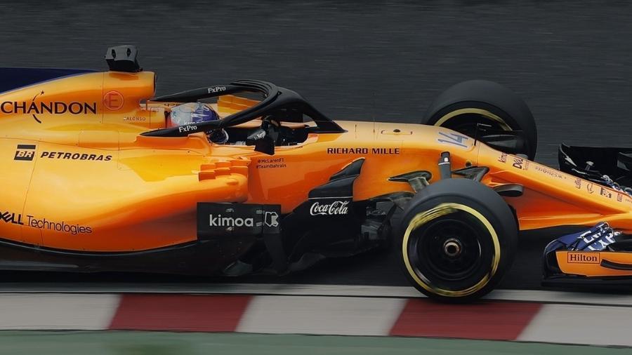 Fabricante de refrigerantes vai patrocinar a McLaren até o final da temporada 2018 - McLaren/Divulgação