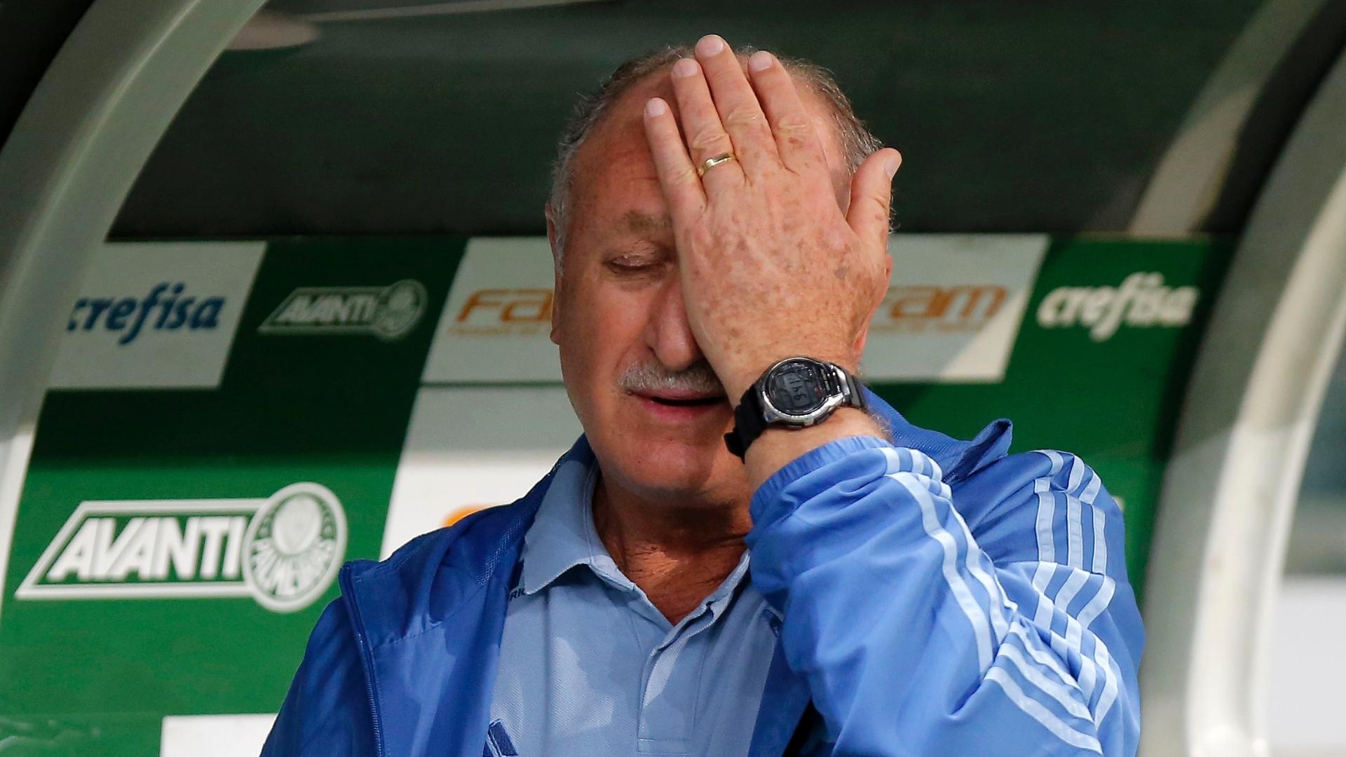 Felipão lamenta chance perdida pelo Palmeiras contra o Fluminense