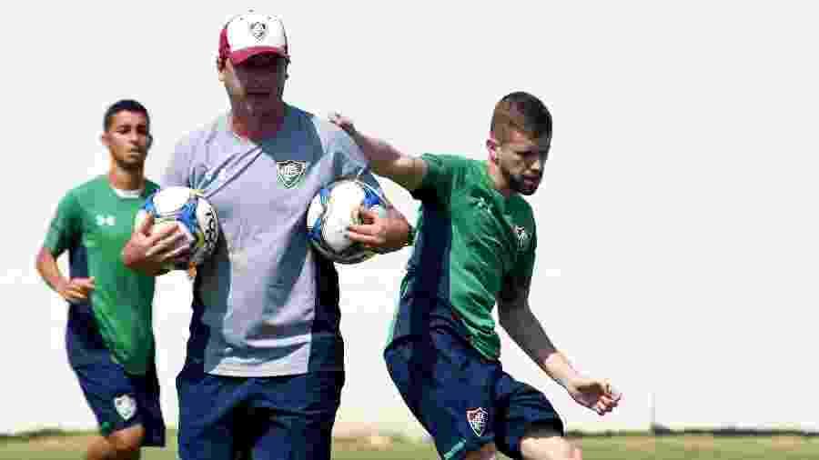 Trabalho de Fernando Diniz foi exaltado no Fluminense mesmo diante de resultados ruins - Mailson Santana