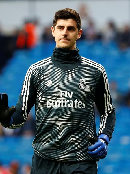 Thibaut Courtois, goleiro do Real Madrid - Juan Medina/Reuters