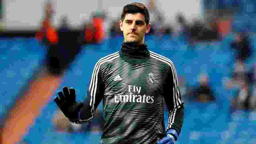 Thibaut Courtois, goleiro do Real Madrid - Juan Medina/Reuters