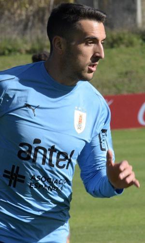 Matias Vecino, da seleção do Uruguai