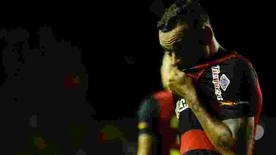 Guilherme, atacante do Sport, está na mira do Cruzeiro por indicação de Rogério Ceni - Anderson Stevens/Sport Club do Recife