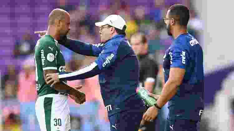 Felipe Melo na zaga foi imposição de Luxemburgo, que quer melhorar a saída de jogo palmeirense - Igor Castro/Florida Cup