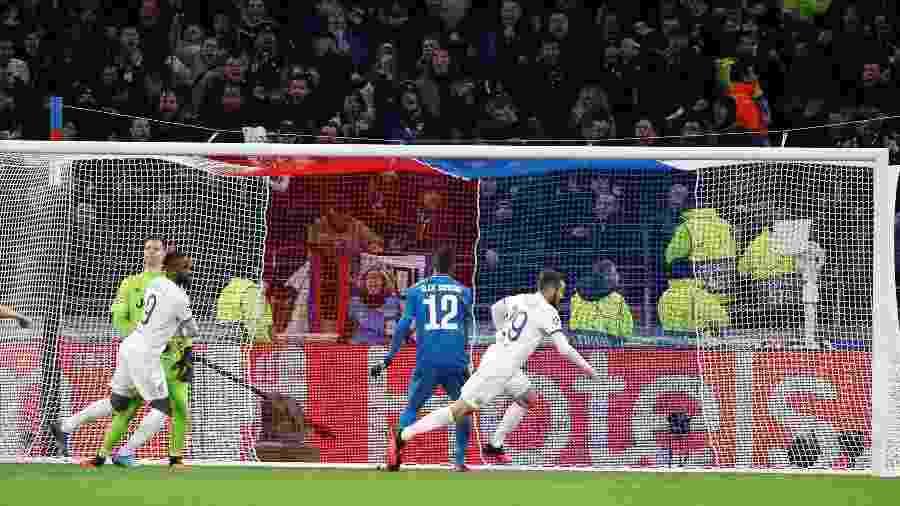 Gol da partida foi marcado por Lucas Tousart ainda no primeiro tempo - Eric Gaillard/Reuters