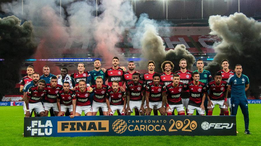 Flamengo Campeão Carioca de 2020 - Marcelo Cortes / Flamengo