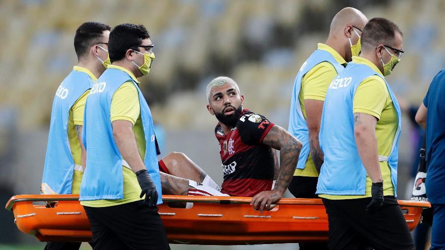 Gabigol segue trabalho de recuperação no Flamengo