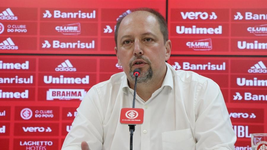 Alessandro Barcelos, presidente do Internacional, se mostrou favorável ao adiamento da rodada - Ricardo Duarte/Internacional