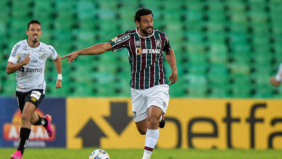 Fred volta ao time do Fluminense para tentar quebrar tabu no Allianz Parque - Thiago Ribeiro/AGIF