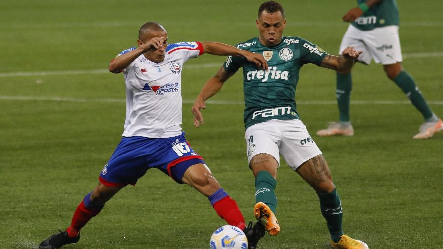 Bahia vem de derrota por 3 a 2 para o Palmeiras no Allianz Parque - RICARDO MOREIRA/ZIMEL PRESS/ESTADÃO CONTEÚDO