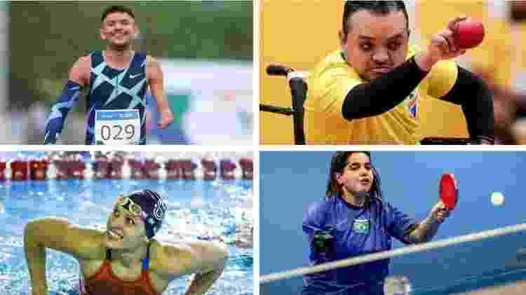 Atletas paralímpicos convocados para Tóquio - CPB - CPB