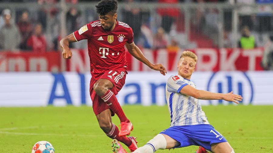 Coman, do Bayern, ficará fora por duas semanas para se recuperar de operação - Philippe Ruiz/Xinhua