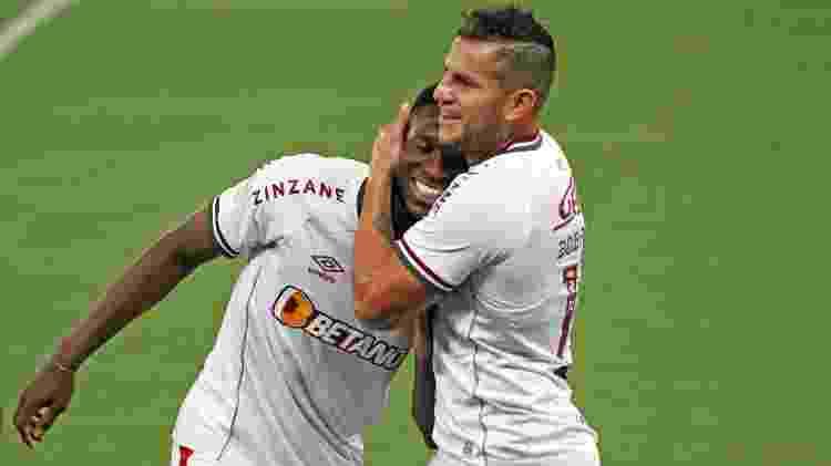 Luiz Henrique e Bobadilla tem feito gols para o Fluminense no Brasileirão - GUSTAVO FARINACIO/ESTADÃO CONTEÚDO - GUSTAVO FARINACIO/ESTADÃO CONTEÚDO