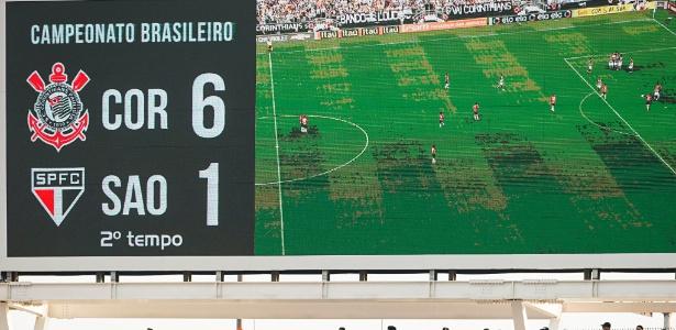 Goleada sobre o SP, há dois anos, virou exemplo ao Corinthians