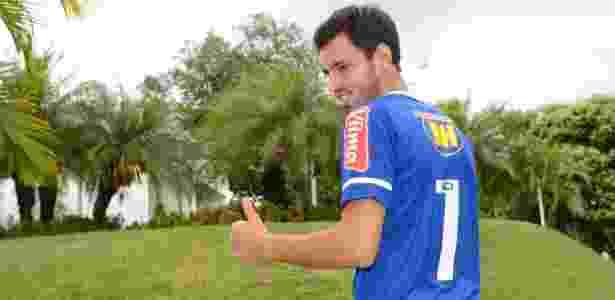 Sánchez Miño, novo reforço do Cruzeiro - Washington Alves/Light Press - Washington Alves/Light Press