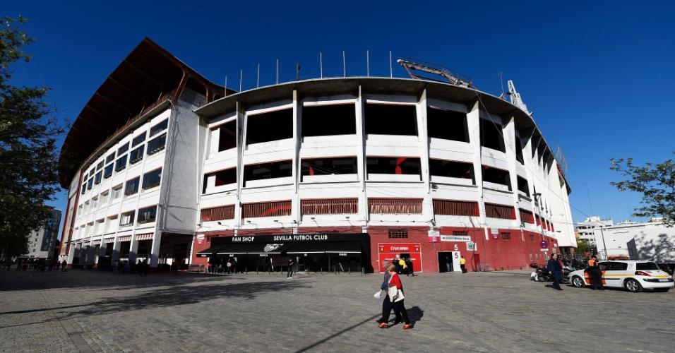 Estádio Ramón Sánchez Pizjuán, em Sevilha (Espanha)