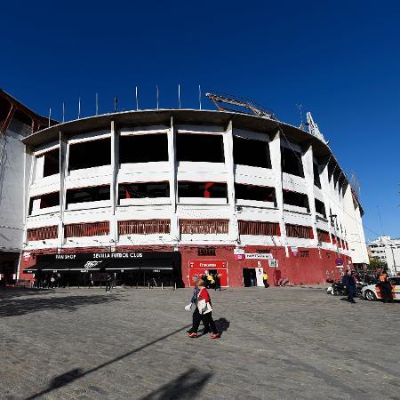 Estádio Ramón Sánchez Pizjuán, em Sevilha, receberá clássico com portões fechados - David Ramos/Getty Images