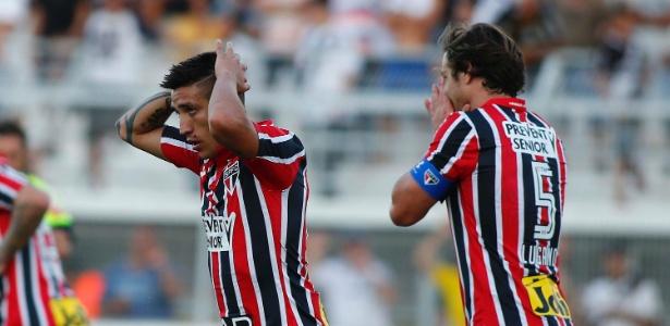 Ex-jogador do São Paulo, Centurión se envolveu em uma nova polêmica na Argentina