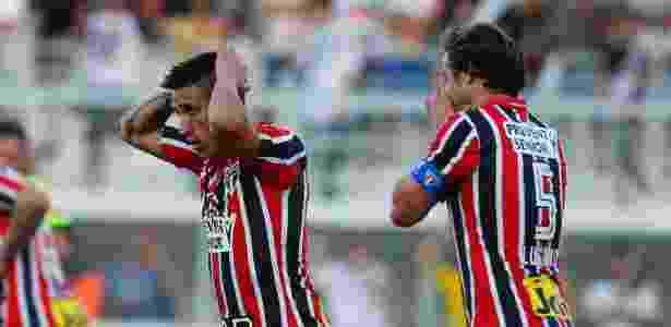 Com Centurión ainda no time, São Paulo perdeu para Ponte no 1º turno - Marcos Bezerra/Futura Press/Estadão Conteúdo