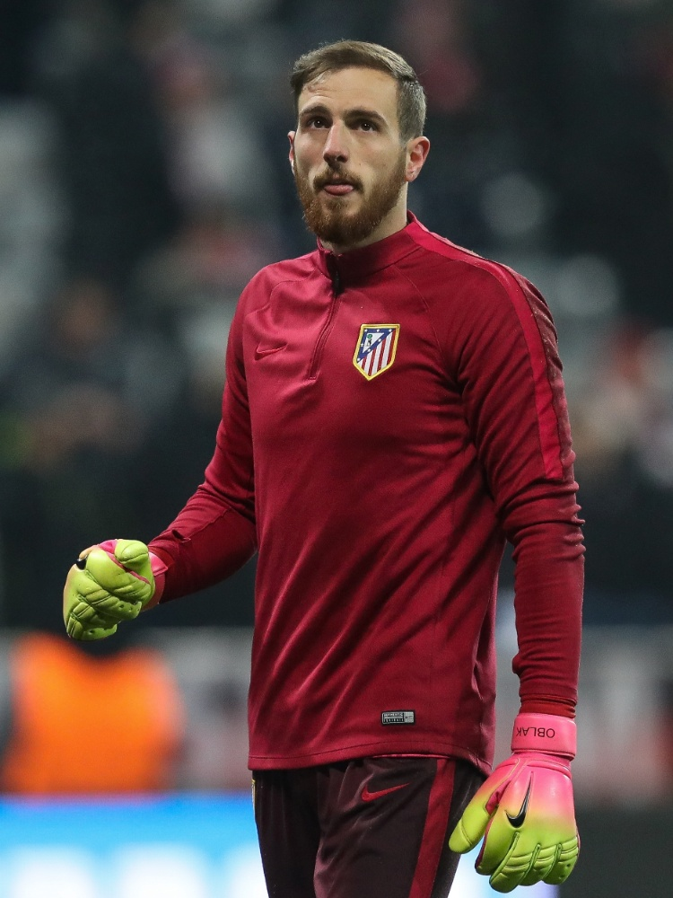 Jan Oblak, goleiro do Atlético de Madri