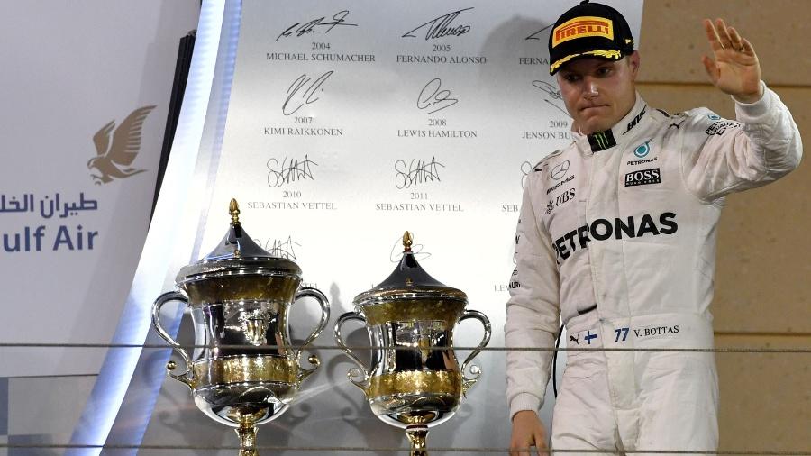 Valtteri Bottas, piloto da Mercedes - AFP PHOTO / ANDREJ ISAKOVIC