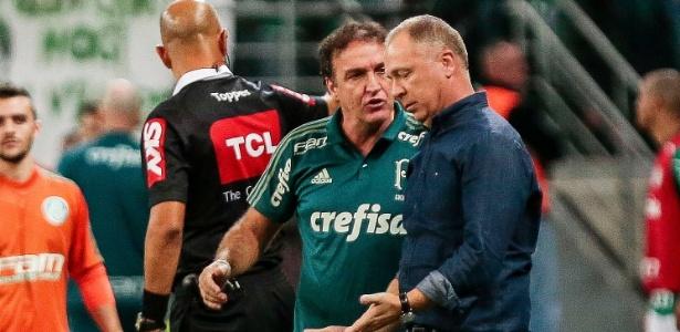 Cuca lamentou a queda de intensidade do time depois do gol de empate