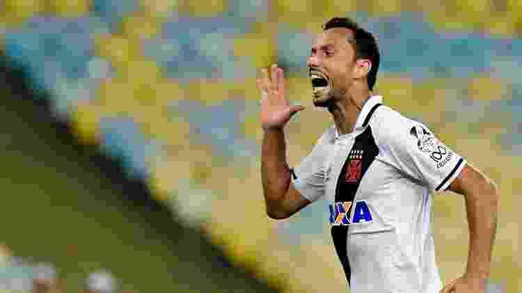 Nenê comemora seu gol no clássico entre Vasco e Botafogo - Thiago Ribeiro/AGIF - Thiago Ribeiro/AGIF