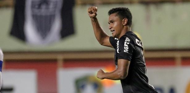 Erik começou o ano como reserva e logo assumiu a condição de titular do Atlético-MG