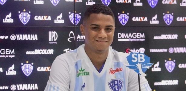 Derlan esteve emprestado ao Paysandu no começo do ano, agora chega ao Grêmio