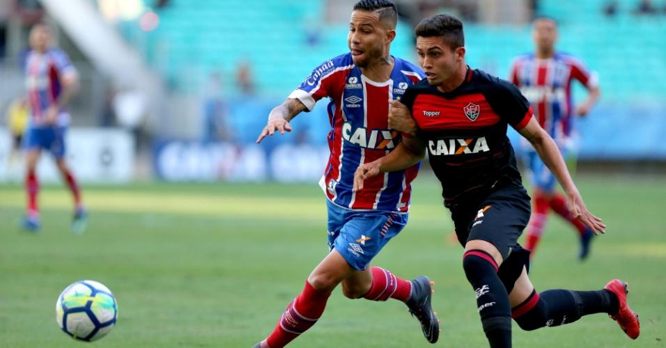 Bahia e Vitória disputam clássico na Fonte Nova