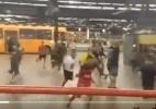 """Atletiba da """"Torcida Humana"""" teve brigas, detidos e protesto do Coritiba - Reprodução/Twitter"""