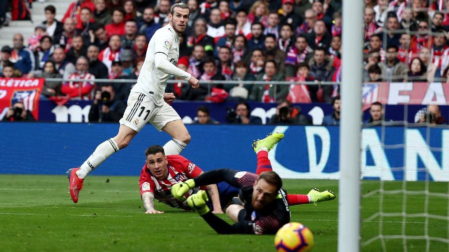 Bale entrou no segundo tempo e fechou a conta no dérbi de Madri - Sergio Perez/Reuters