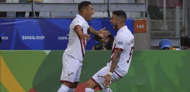 e5cde97cb3 Venezuela desencanta, despacha Bolívia e se classifica no grupo do Brasil -  22/06/2019 - UOL Esporte