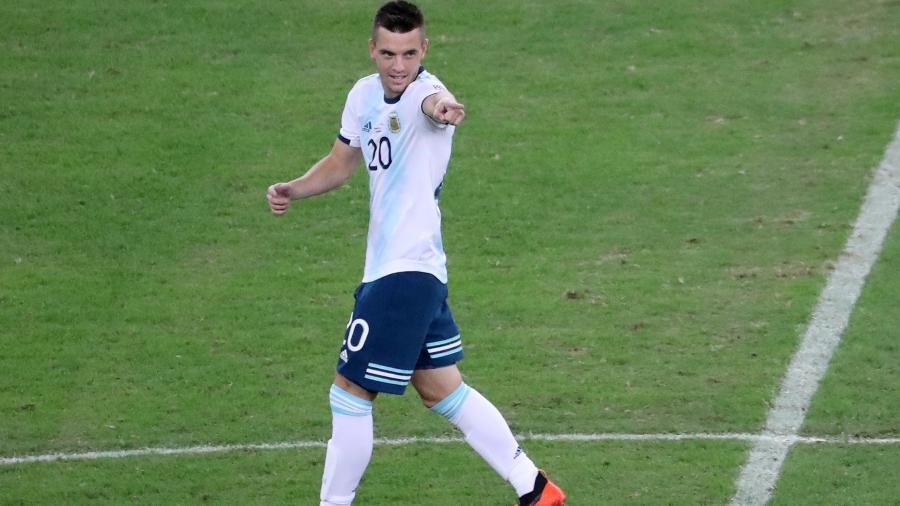 Lo Celso é um dos jogadores que esteve naquela partida em Brasília - Sergio Moraes/Reuters