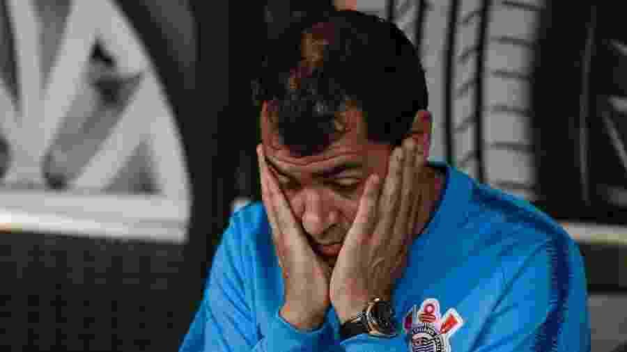 Fábio Carille, técnico do Corinthians - Marcello Zambrana/AGIF